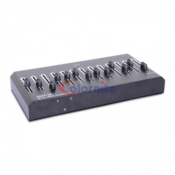 12 Channels DMX Controller - Movievision